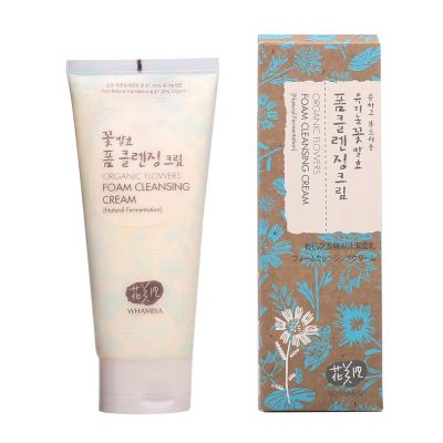Whamisa-Organic-Flowers-Foam-Cleansing-Cream
