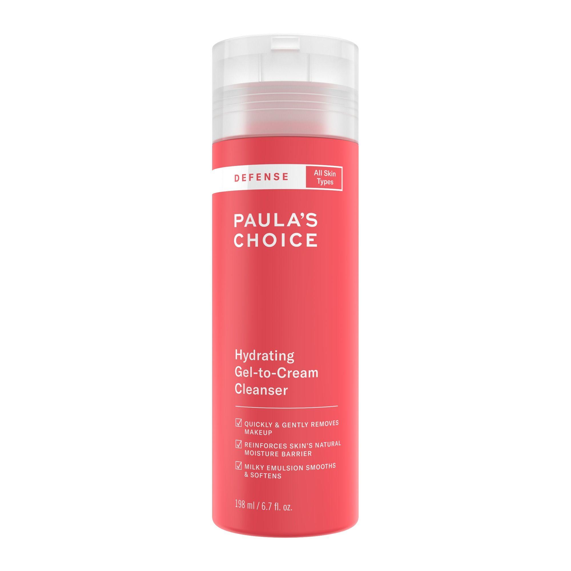 Paulas-Choice-DEFENSE-HYDRATING-GEL–TO–CREAM-CLEANSER