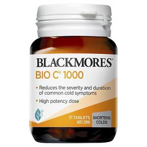 Viên Uống Vitamin C Blackmores Bio C 1000mg (31 viên)
