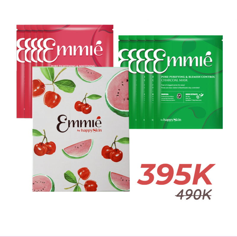 Limited edition Combo 10 mặt nạ Emmié