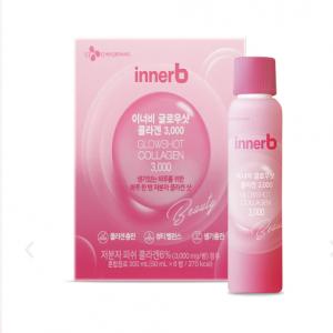Nước Uống INNER B Glowshot Collagen Căng Mịn Sáng Da 300ml