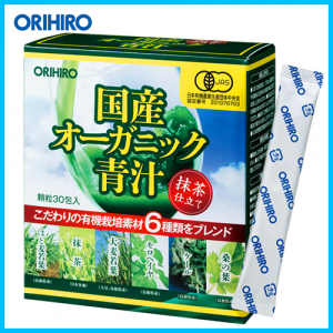 Bột Rau Xanh Aojiru Orihiro 2g x 30 gói