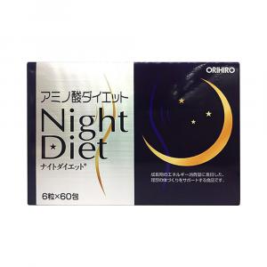Viên Uống Giảm Cân Night Diet ORHIRO 90g 60 gói x 6 viên