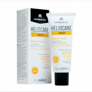 Kem chống nắng Heliocare 360 ° Mineral Fluid SPF 50+ (50ml)