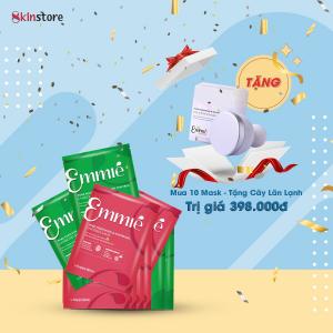 Emmie' Birthday Gift Set - 10 Emmie' Mask + Tặng Cây Lăn Lạnh Hàn Quốc