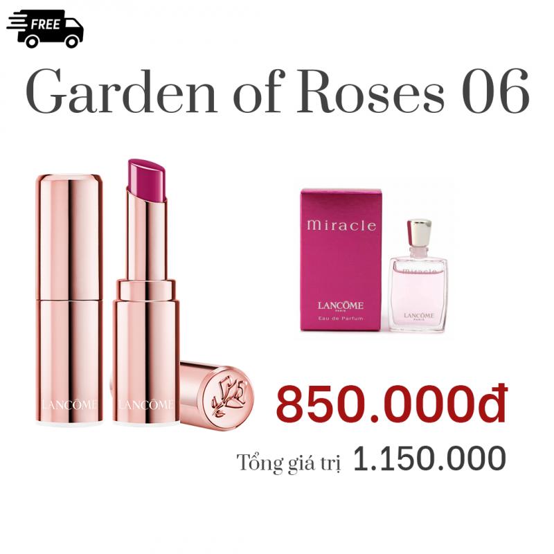 Combo Garden of Roses 06: Son DEMOISELLE SHINE Màu...