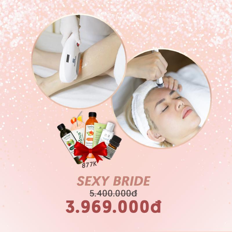 COMBO SEXY BRIDE (Triệt lông ,Aqua peel)
