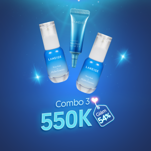 Laneige Combo Gel dưỡng mắt , 2 Tinh chất dưỡng ẩm Hydro Essence 30ML