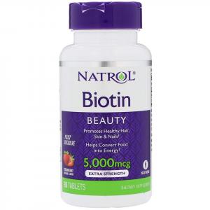 Viên Ngậm Mọc Tóc Biotin 5.000mcg - 90 viên