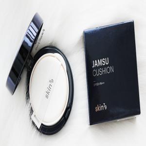 Review Skin79 Jamsu Cushion nền đẹp căng mọng chẳng kém highend