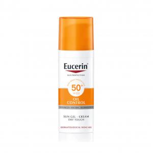Kem Chống Nắng Cho Da Nhờn Mụn Eucerin Sun Gel-Cream Dry Touch Oil Control SPF50+ 50ml